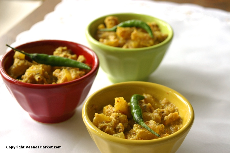 Mangalore pineapple curry
