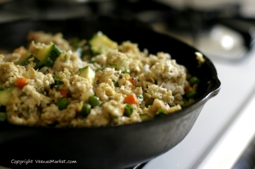 gluten free upma with rolled oats