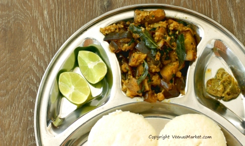 easy eggplant recipe without onions or coconut