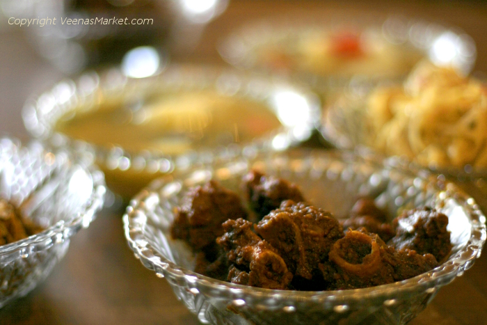 Burmese goat curry